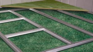 metal shed floor