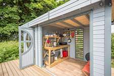Rowlinson-cabin-garden-summer-building