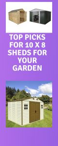 Top picks for 10 x 8 sheds for your garden