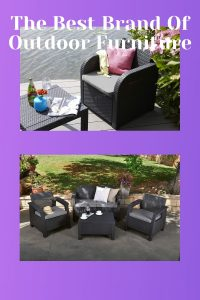 The Best Brand Of Outdoor Furniture